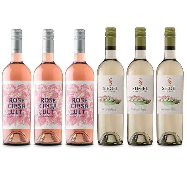 Rosé y Sauvignon Blanc Siegel Gran Reserva
