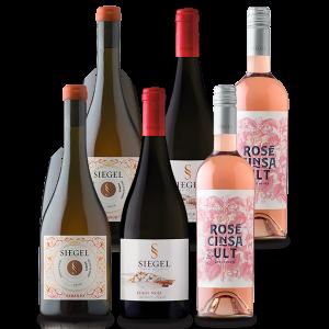 Vinos en Oferta Siegel Mix Naranjo Rosé y Pinot Noir Siegel